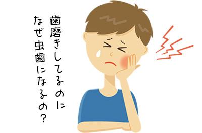 ストレスに潜んでいる虫歯の危険性