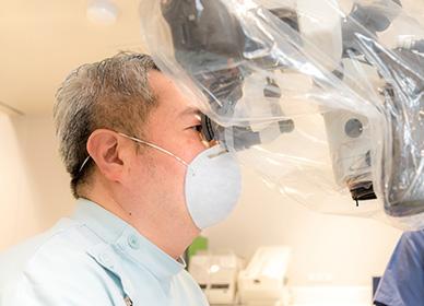 根管治療専門の吉松歯科医院の院長